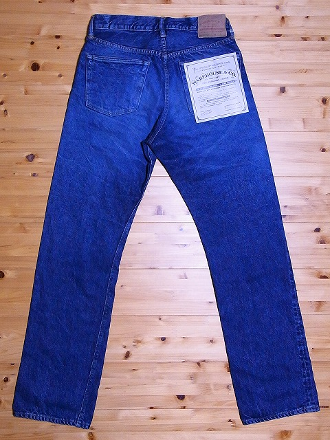 WAREHOUSE jeans 800 STANDARD (USED-WASH)