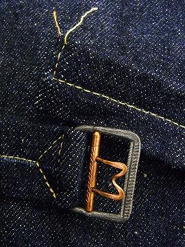 WAREHOUSE [웨어하우스] 데님 재킷 2000 1ST TYPE DENIM JACKET 2POCKETS G 쟌 (남 빛/NON-WASH) 대금 상환 수수료 무료