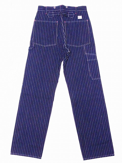 c221e6cc1c WAREHOUSE  wear house  painter underwear 1092 stripe work pants STRIPE  PAINTER PANTS (indigo   stripe  NON-WASH) collect on delivery fee for free