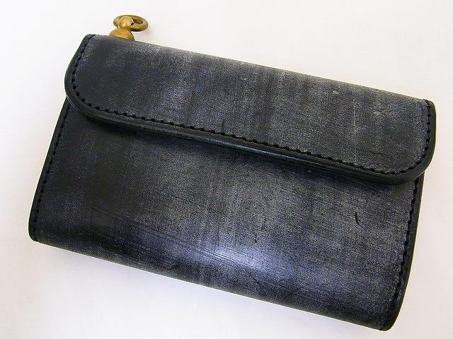 INCEPTION[インセプション] ウォレット 財布 レザー ミドルウォレット UKブライドル ソリッド IPW-06 (ブラック) 送料無料 代引き手数料無料