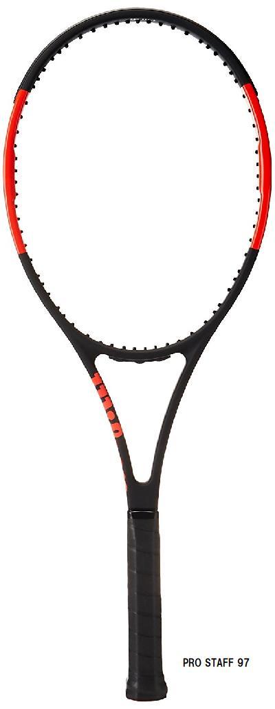 【国内正規品】Wilson 特価硬式テニスラケット PRO STAFF 97 プロスタッフ97 315g サービスガット・張り代込