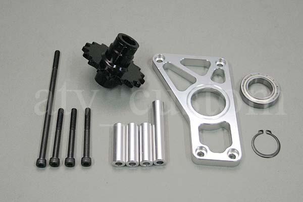 CL420 モンキー 20mm オフセット 420-16T アウターボード スプロケット ワイドホイール 太足 デカ足 4ミニ 横型エンジン カスタム