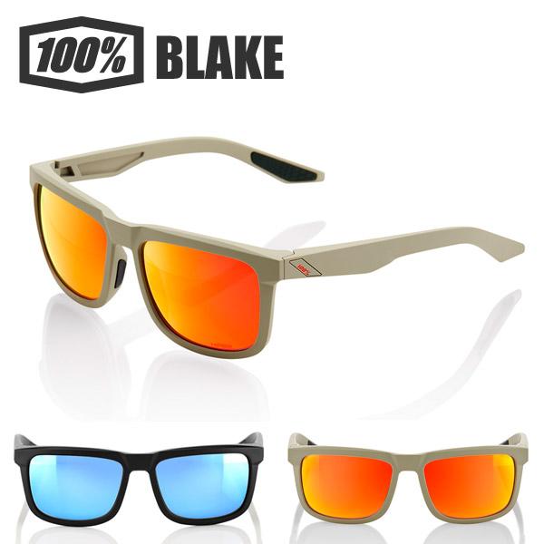 【送料無料】 ワンハンドレッドパーセント 100% 100パーセント サングラス BLAKE 正規品 スポーツサングラス アイウェア ロードバイク 自転車 モトクロス サイクリング