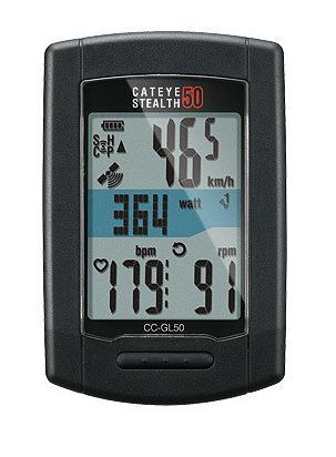 CATEYE CC-GL50 STEALTH50 ( GPSスピードセンサーサイクルコンピューター ) キャットアイ CCGL50 ステルス50 CAT EYE