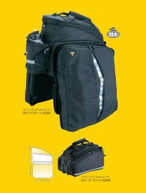 TOPEAK TrunkBag DXP Strap Mount (コード番号:BAG24200) (トランクバッグ) トピーク トランクバッグ DXP (ストラップマウント)
