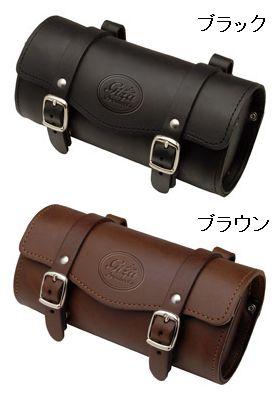 GIZA PRODUCTS レザーサドルバッグ ( サドルバッグ ) ギザ プロダクツ Leather Saddle Bag BAG28500 BAG28501