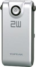 トピーク 2W用ホワイトライト HP 2W パワーパック 7.4V 2200 (TMS-SP65) (コード番号:YLP03900) (トピークライト用リビルドキット) TOPEAK