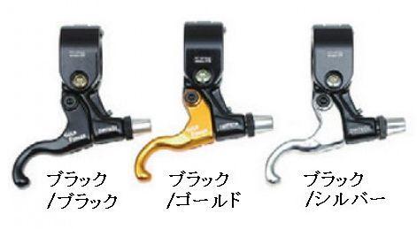 【取り寄せ商品】 DIA-COMPE TECH99 Gold Finger 318 1個 シルバー・ゴールド・ブラック (ダートジャンプ&フリースタイル用ブレーキレバー) ダイアコンペ TECH99ゴールドフィンガー