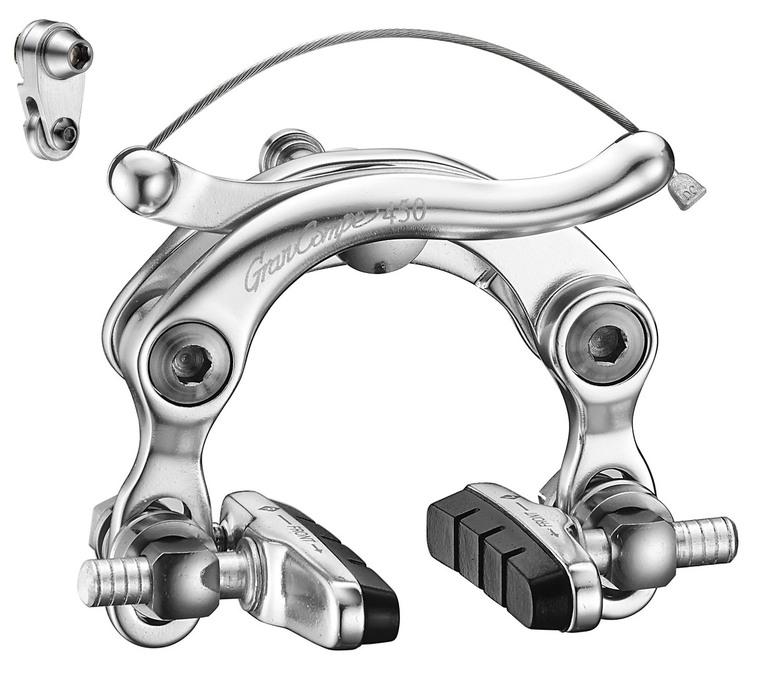 (取寄せ商品) GRAN COMPE GC450 1個 (前用or後用) ( センタープルタイプブレーキキャリパー ) グランコンペ GC-450 Center-Pull Brake DIA-COMPE ダイアコンペ