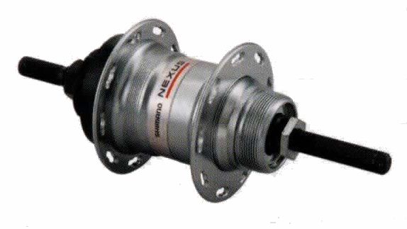 ブリヂストン 変速ハブ本体 軸長181.8mm ダイネックスブレーキ用チェーン用(リヤ用ハブ) BRIDGESTONE 3S42 3155052 P4369