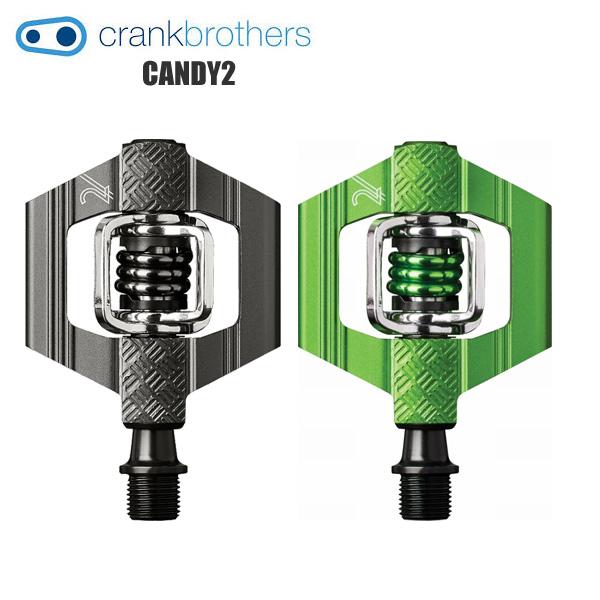 CRANK BROTHERS クランクブラザーズ ペダル キャンディ2 CANDY2 シクロクロス XC トレイルライド 自転車
