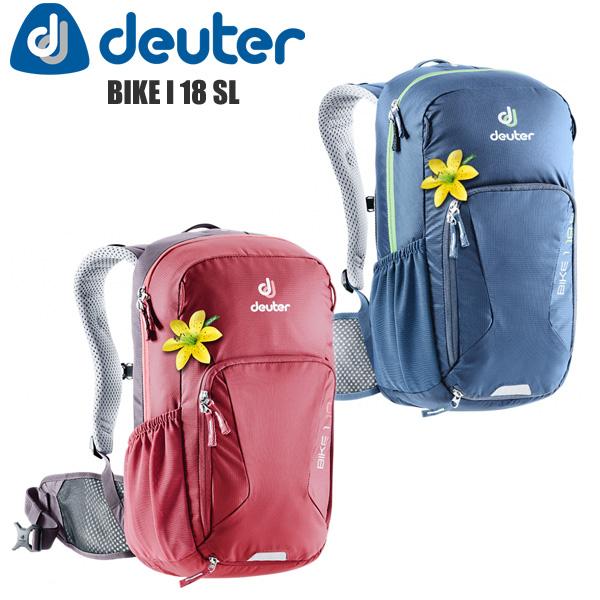 deuter ドイター リュック バックパック バイクパック 自転車 BIKE 1 18 SL ウィメンズフィット サイクリング アウトドア バッグ カバン