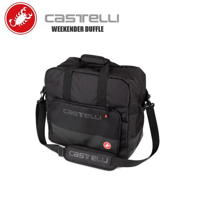 CASTELLI カステリ ダッフルバッグ バッグ 8900113 ロードバイク DUFFLE ついに入荷 ショップ 自転車 WEEKENDER