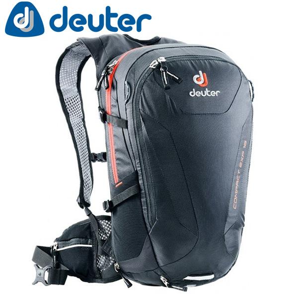 deuter ドイター D3200315-7000 コンパクト EXP16 BKaバックパック リュック 自転車 サイクリング アウトドア 通勤 通学