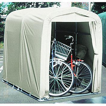 BRIDGESTONE ブリヂストン 組立式テント サイクルハウス 2台用 南榮工業製 自転車 収納用テント CV-SH2 A560801SL P2903 CVSH2 SH2-OG
