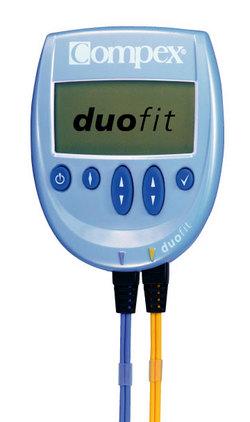 Compex duofit コンペックス デュオフィット 筋肉を引き締め、理想のカラダづくりをサポート。 (品番:701500)