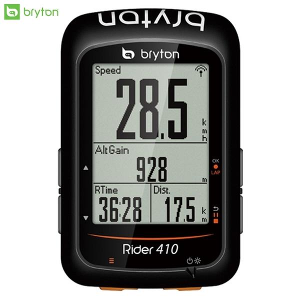 Bryton ブライトン GPS サイクルコンピューター サイコン Rider 410 ケイデンスセンサーキット スマートケイデンスセンサー同梱 ロードバイク MTB 自転車