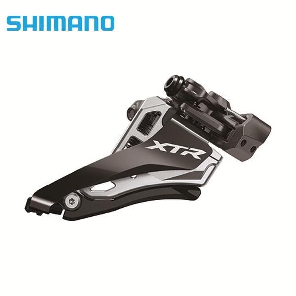 SHIMANO シマノ FD-M9100-M ミドルポジションバンドタイプφ34.9mm(31.8/28.6mmアダプタ付) サイドスイング 2X12S