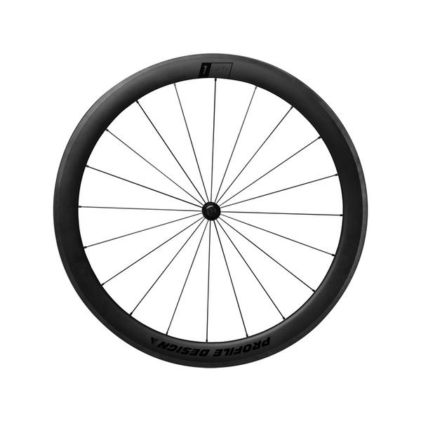 (PROFILEDESIGN/プロファイルデザイン)(自転車用ホイール)1/FIFTY フルカーボンクリンチャーF+R 50mm(W150FCCS1)