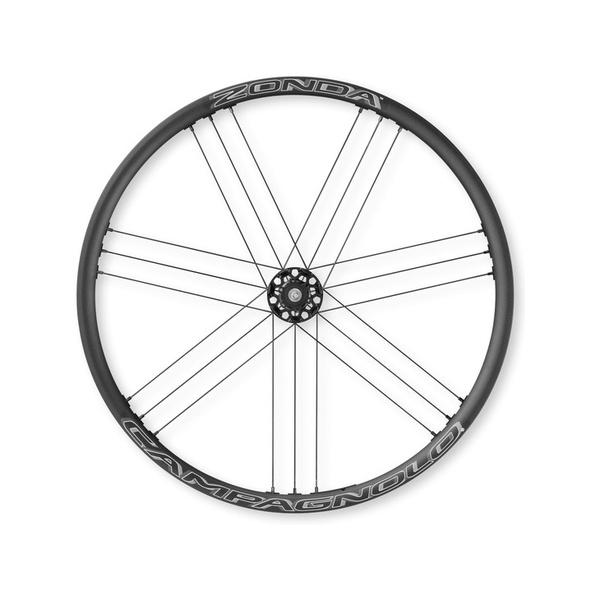 (Campagnolo/カンパニョーロ)(自転車用ホイール)ZONDA DB (F+R)6穴(スルー)シマノ F HH12-R HH12(0136459)
