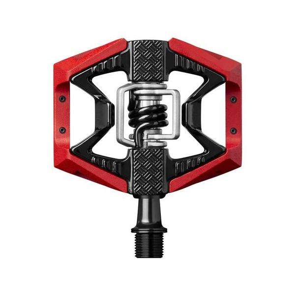 (CrankBrothers/クランクブラザーズ)(自転車用ペダル)ダブルショット 3 ペダル レッド/ブラック(641300161109)