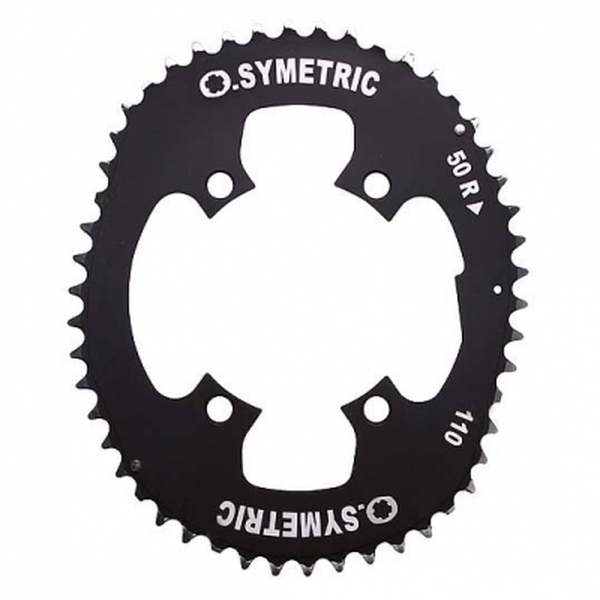 (OSYMETRIC)チェーンリングキット 110PCD 4arms (50/36)