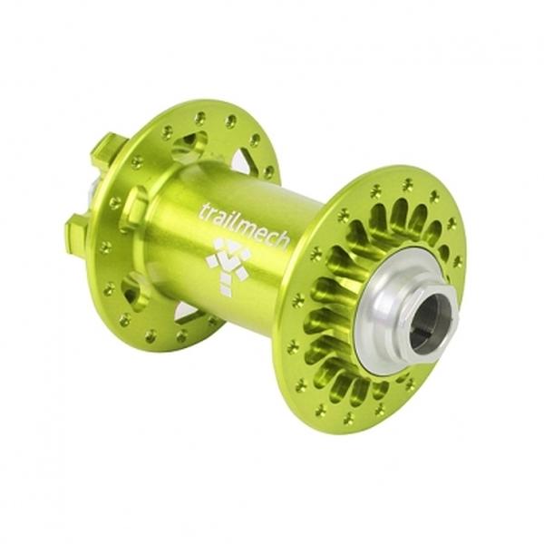 (trailmech)XC Boost フロントハブ32H 110x15mm グリーン