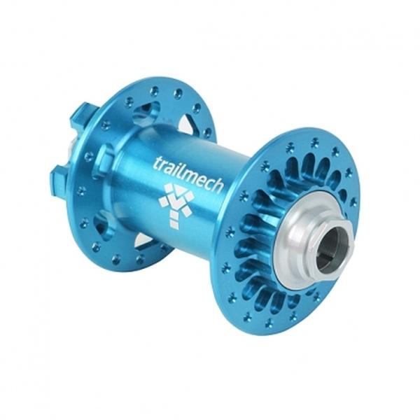 (trailmech)XC Boost フロントハブ32H 110x15mm ブルー