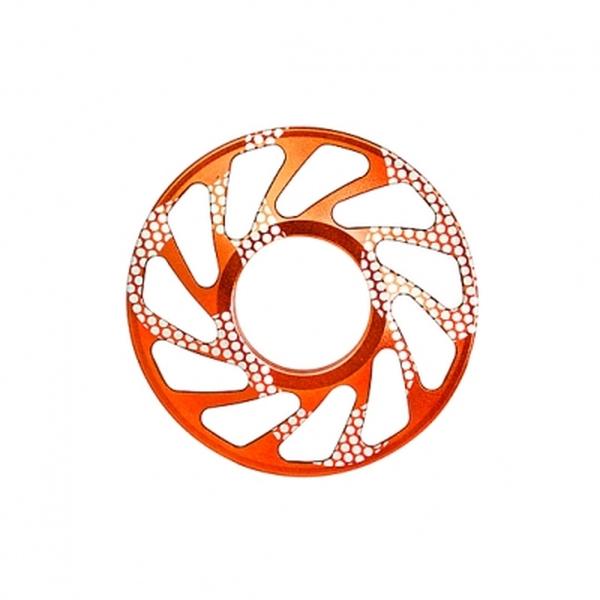 FOURIERS フォーリアーズ DHスプロケットスペーサー セール 登場から人気沸騰 最大ギア24T オレンジ 感謝価格 DX003-2408
