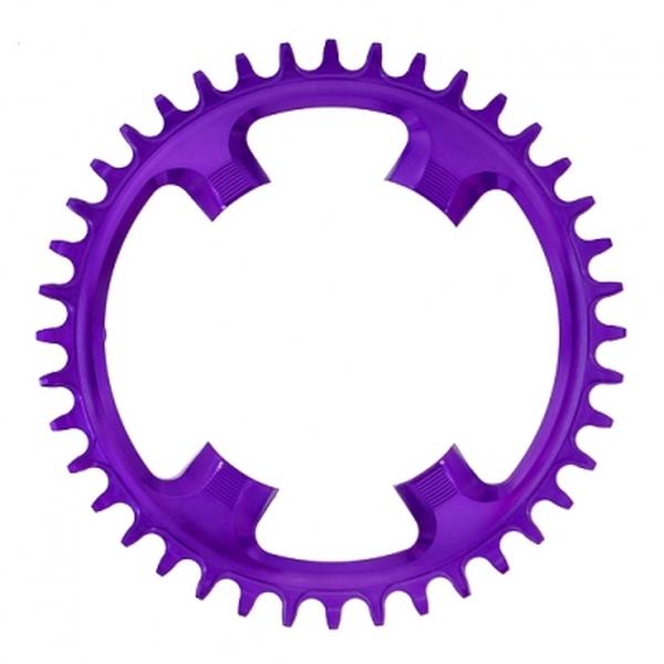 (garbaruk/ガルバラック)チェーンリング 110PCD4アーム 40T 紫