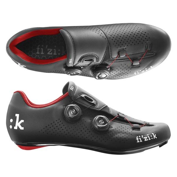 (fizik/フィジーク)(自転車用シューズ/靴用品)R1B UOMO(メンズ)BOA BK/RED 37(R1MBC 1030 370)