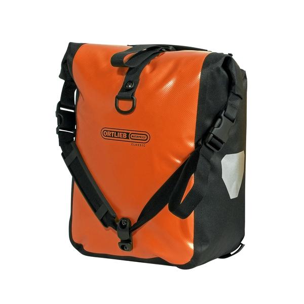 (ORTLIEB/オルトリーブ)スポーツローラークラシック(ペア) H30xW25xD14cm オレンジ