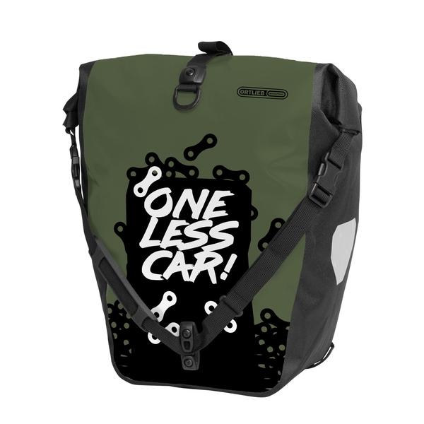 ORTLIEB オルトリーブ バックローラーデザイン/(ワンレスカー)オリーブ(シングル) H42xW23/32xD17cm オリーブ