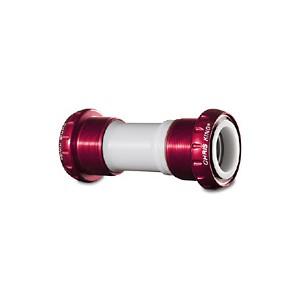 (CHRISKING/クリスキング)(自転車用ボトムブラケット(BB)関連)ThreadFit 24 Bottom Bracket Ceramic BearingsRoad and MTB compatible Red