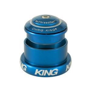 (CHRISKING/クリスキング)(自転車用ヘッドパーツ)InSet 3 GripLock NoThreadSet Headset Turquoise Bold Logo