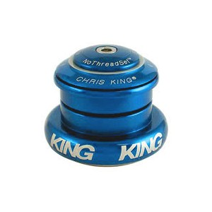 (CHRISKING/クリスキング)(自転車用ヘッドパーツ)InSet 7 GripLock NoThreadSet Headset (I7) Turquoise Bold Logo