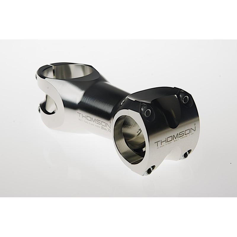 (THOMSON/トムソン)(自転車用ステム関連)MTB STEM X4 31.8 100mm 10°SILVER