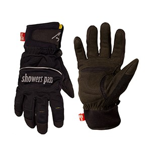 (ShowersPass/シャワーズパス)(自転車用グローブ/手袋)Crosspoint Softshell WP L