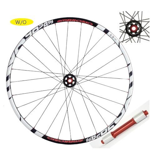 (AMBROSIO/アンブロッシオ) (自転車用完組ホイール)NUMBER 7(650B)