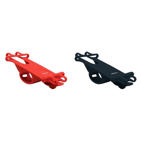 (xplova)(自転車用アクセサリ関連)スマートフォン用 自転車ハンドルバーマウント Bike Tie (バイク・タイ)