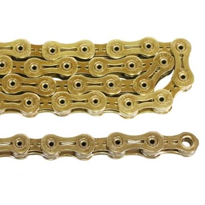 (YABAN)(自転車用チェーン関連)SLA211 チタンチェーン11s ゴールド