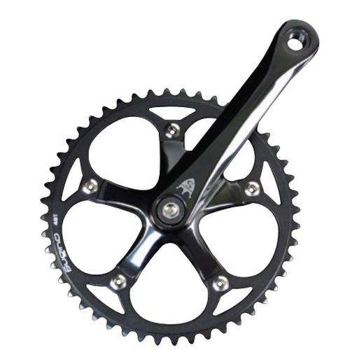 Sugino スギノ クランクセット RD2BX TRACK BK 44T コンポーネント ロードバイク 自転車 サイクルパーツ