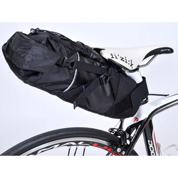 OSTRICH オーストリッチ サドルバッグ スマートイージーパック インナーバッグ付 ブラック 自転車 ロードバイク サイクリング アウトドア