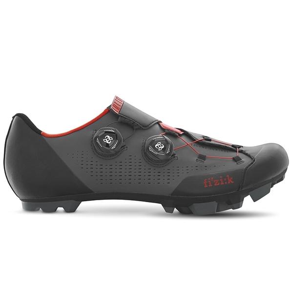 (fizik/フィジーク)X1 INFINITO BOA GR/RED サイクリングシューズ 自転車 ロードバイク シューズ サイクルシューズ サイクリング