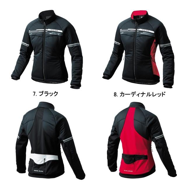 (PEARLiZUMi/パールイズミ)(自転車用ウェア/女性/レディース)(2016秋冬) ストレッチ インサレーション ジャケット(W7900-BL)