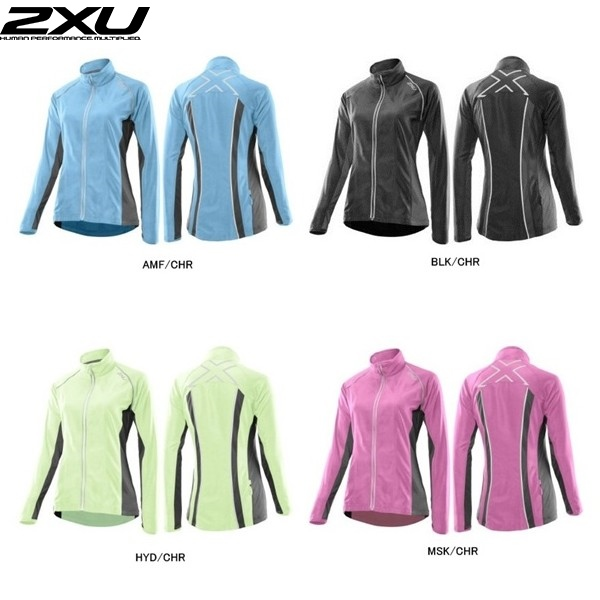(2XU/ツータイムズユー)(ランニング用ウェア/女性/レディース)Elite Run Jacket (エリート ランジャケット) (WR3193a)