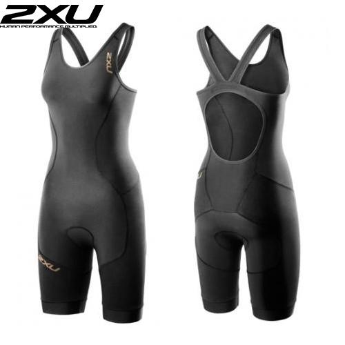 (2XU/ツータイムズユー)(トライアスロン用ウェア/女性/レディース)Elite X Short Course Trisuit (エリートX ショートコートトライスーツ) (WT3187d)