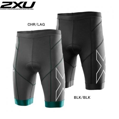 (2XU/ツータイムズユー)(トライアスロン用ウェア/男性用/メンズ)Elite Compression Tri Short (エリートコンプレッショントライショーツ) (MT3098b)