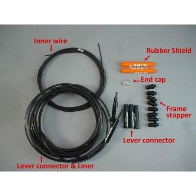 (アリゲーター/ALLIGATOR)(自転車用シフターケーブル)I-LINK シフターケーブル セット 各カラー
