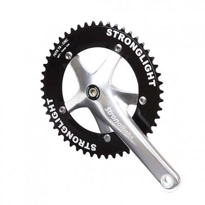 (ストロングライト/STRONGLIGHT)(自転車用クランク)TRACK 2000 JIS 144PCD シングル